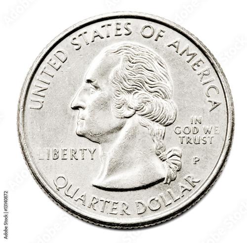 Fotografía  Close-Up Of Us Quarter Dollar