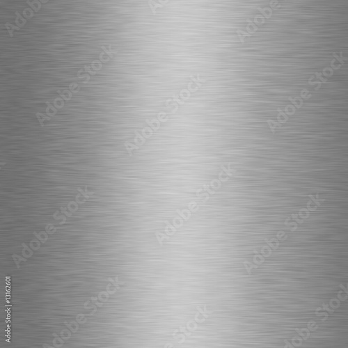Poster Metal Brushed Metal Texture