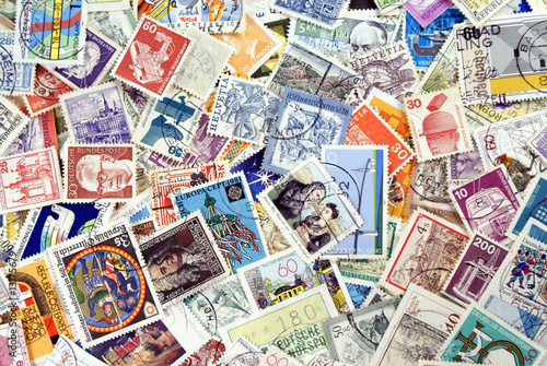 Fotografía  World Post Stamps