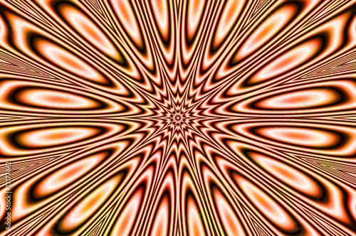 Wall Murals Psychedelic pulsar