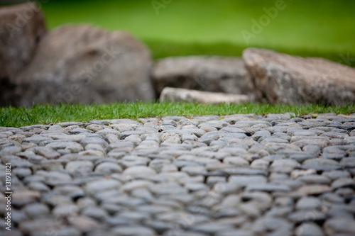 Photo sur Plexiglas Zen pierres a sable Zen Garten