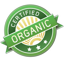 Certified Organic Food Or Prod...