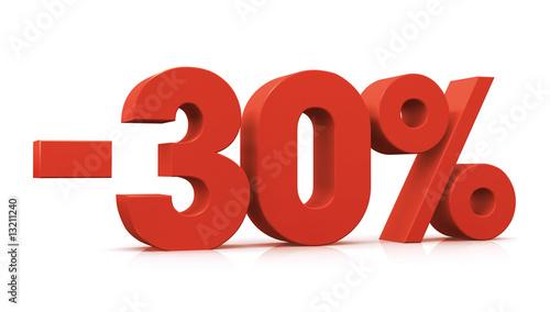 Fotografia  percentage, -30%