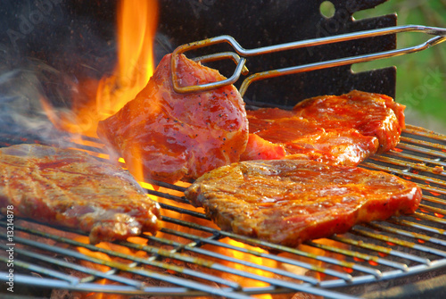 Fotobehang Grill / Barbecue Grillen - barbecue 77