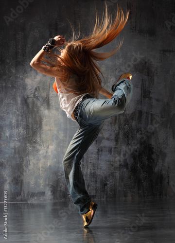 the dancer Fototapeta