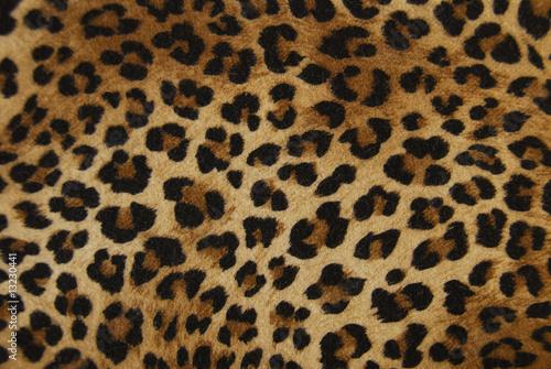Poster Leopard tessuto