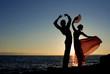 Leinwandbild Motiv spanish dancers in spain