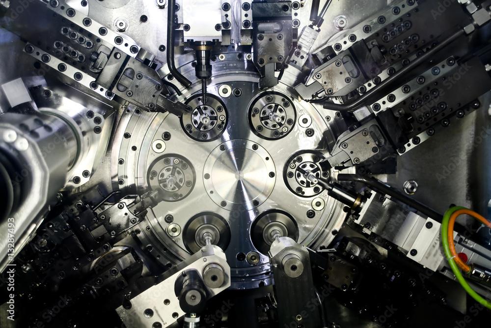 Fototapeta cnc machine tool