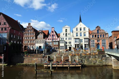 Obraz na plátne  Lüneburger Altstadt