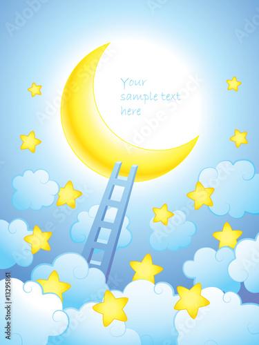 Papiers peints Ciel Ladder to the sky