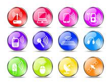 Wireless Communications Vector...