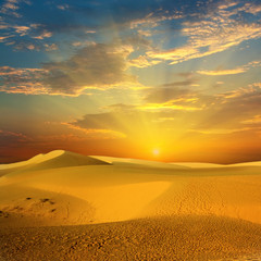 Panel Szklany Desert