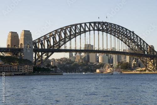 Staande foto Sydney Sydney Harbor Bridge, Australien