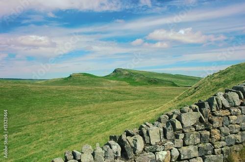 Fotografia Hadrian's wall in northern England