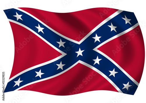 Photo Confederate Naval Jack