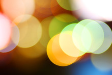 Colorful Bokeh Circles Backgro...