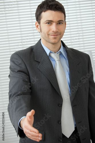Fototapety, obrazy: Business greeting