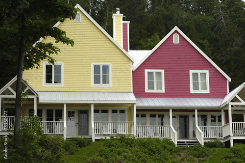 maisons au Canada - Buy this stock photo and explore similar images ...