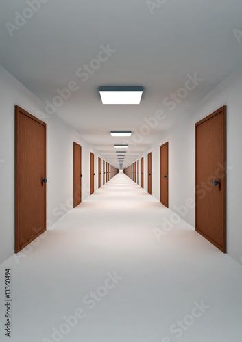 fototapeta na ścianę Corridor