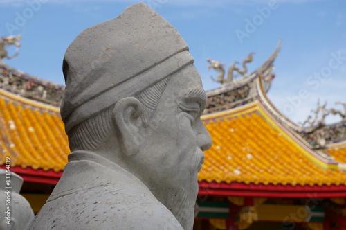 Confucian Shrine, Nagasaki Canvas-taulu