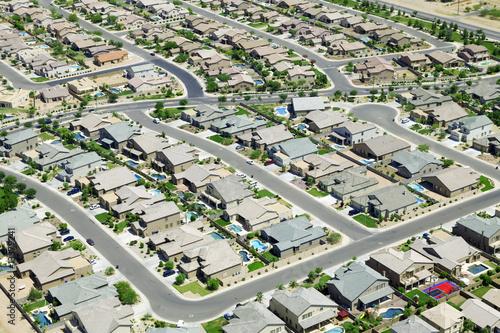 Fotografie, Obraz  Housing Development
