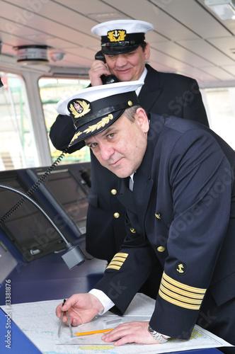 Fotografía  Navigation officers
