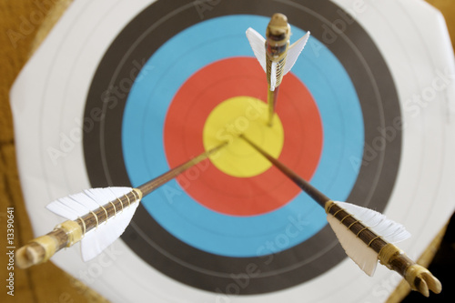 target and arrows Poster Mural XXL