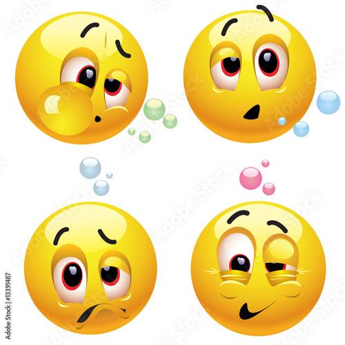Valokuva  Drunk smiling balls