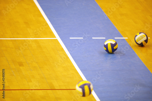 Fotografie, Obraz  Terrain sport ballon volley