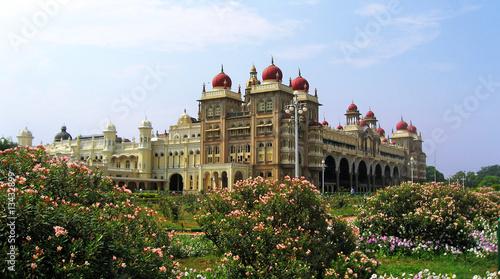 Foto auf Gartenposter Schloss palais de Mysore