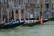 Gondoliere am Canale Grande, Venedig