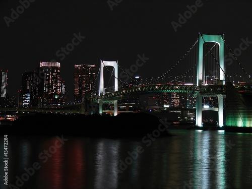 Deurstickers Rotterdam Tokio Bridge