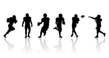 Football Players Silhouettes