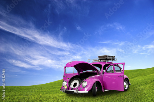 Beetle Car Poster
