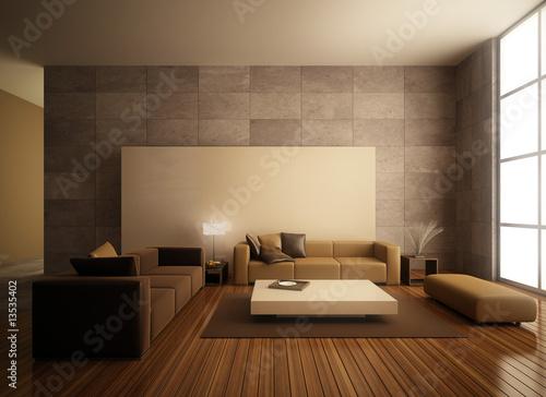 Fotografie, Obraz  living room design
