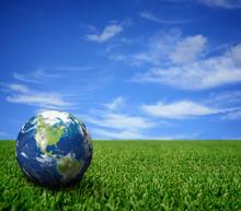 Landscape With Globe