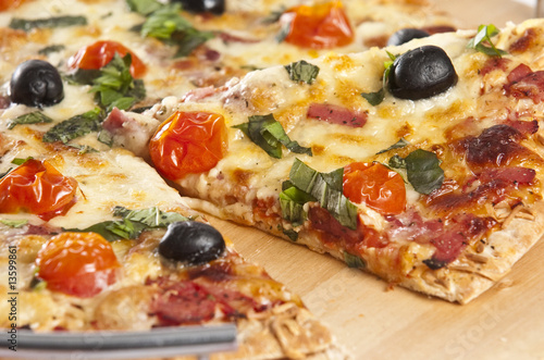 Poster Pays d Europe pizza