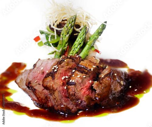 Papiers peints Steakhouse Gourmet fillet mignon steak - with added contrast