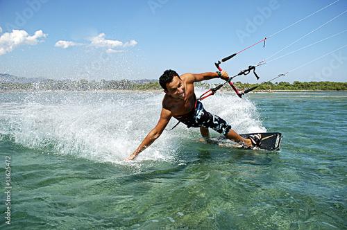Foto  kite surf