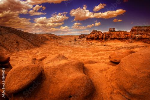 Cadres-photo bureau Brique GOBLIN VALLEY_UTAH