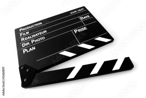 Photographie Clap Cinéma
