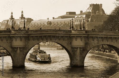 Bridge over the Seine, Paris #13662455