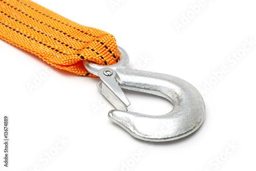Fotografie, Obraz  Towing rope hook