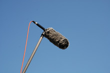 Shotgun Microphone With Wind P...