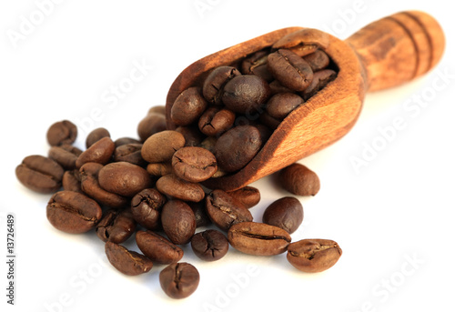 Deurstickers koffiebar quelques grains de café