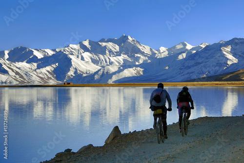 Poster Reflexion Biking in Ladakh