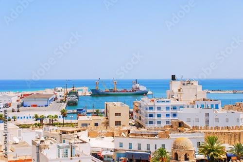 Staande foto Tunesië Seaport in Sousse, Tunisia