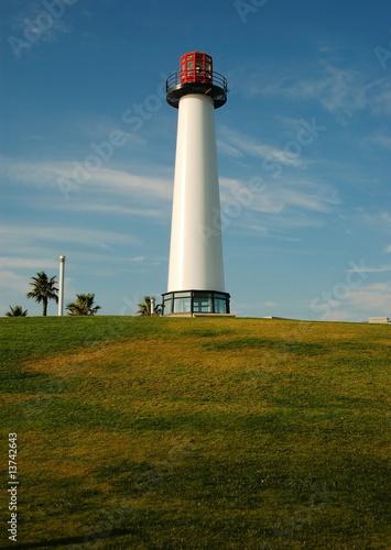 Garden Poster Lighthouse Long Beach Lighthouse, California