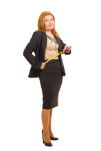 Woman With Tape-measure