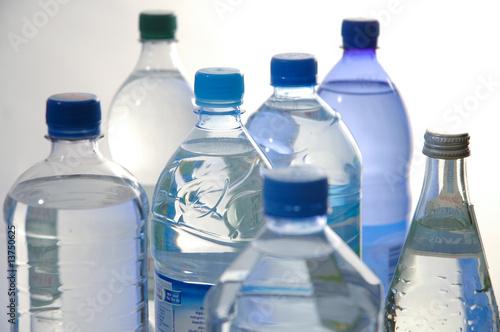 Wasserflaschen1 Tablou Canvas